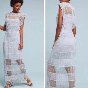 Immaculate-Callahan Anthropologie Crochet Maxi